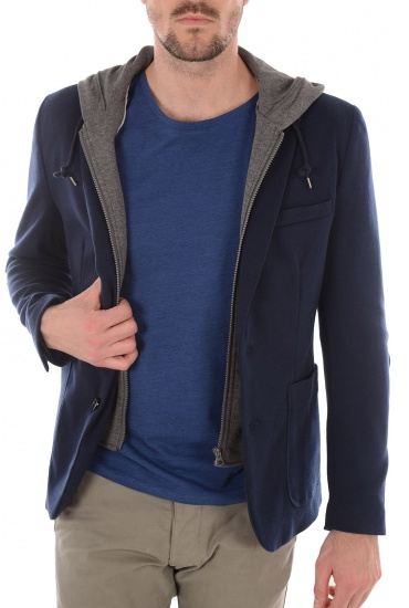 NEW PRO HOOD BLAZER - HOMME SELECTED