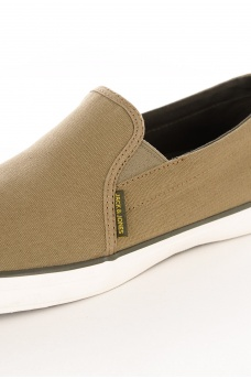 JACK AND JONES: BRADO PRINT CANVAS LOAFER