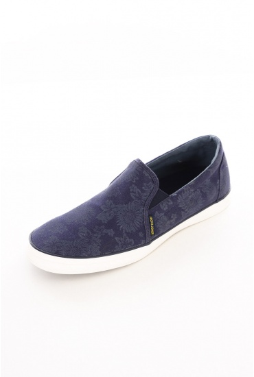 HOMME JACK AND JONES: BRADO PRINT CANVAS LOAFER