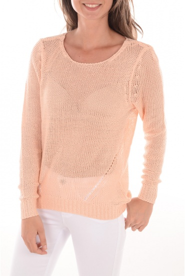 FEMME ONLY: NEW ASSISI L/S PULLOVERT
