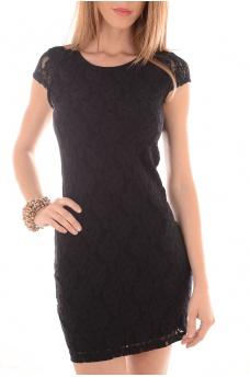 LILLY LACE SHORT DRESS NOOS - FEMME VERO MODA