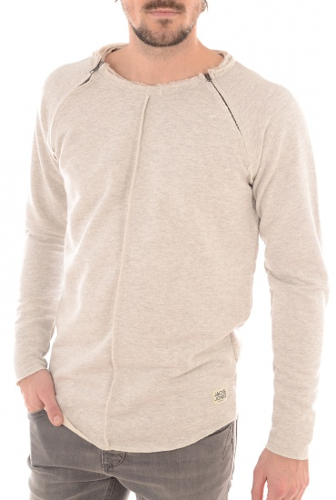 DIVIDED SWEAT CREW NECK - HOMME JACK AND JONES