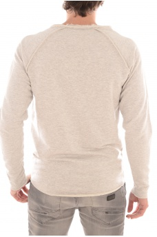 JACK AND JONES: DIVIDED SWEAT CREW NECK