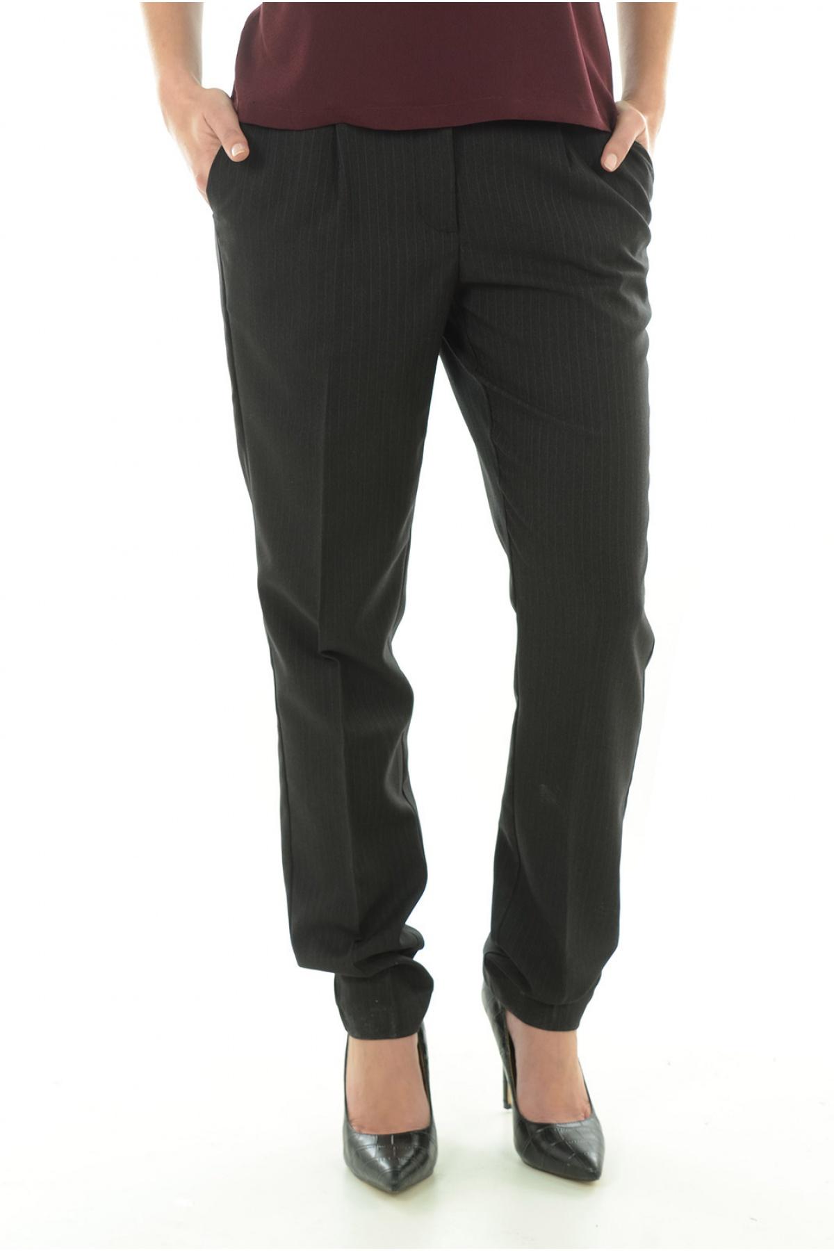 Pantalon à Pince Stretch Pinstriped - Vero Moda
