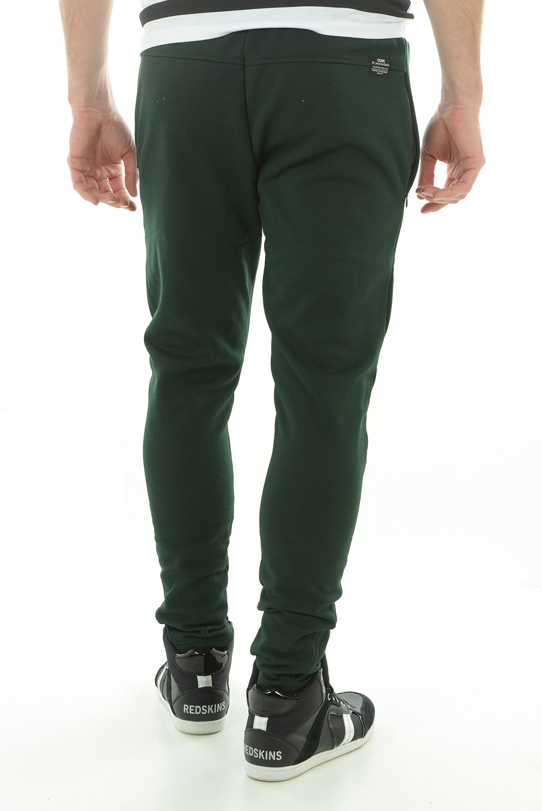 Pantalons sport/streetwear  Jack & Jones COHAM SWEAT PANTS SCARAB