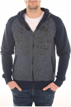DINO SWEAT ZIP HOOD - HOMME JACK AND JONES