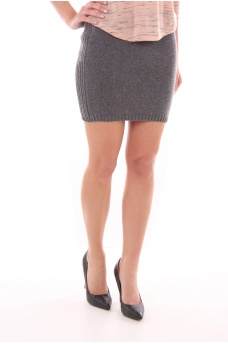 FEMME ONLY: NINE SHORT SKIRT KNT