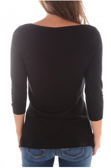VERO MODA: GLORY EVE 3/4 ZIPPER BLOUSE