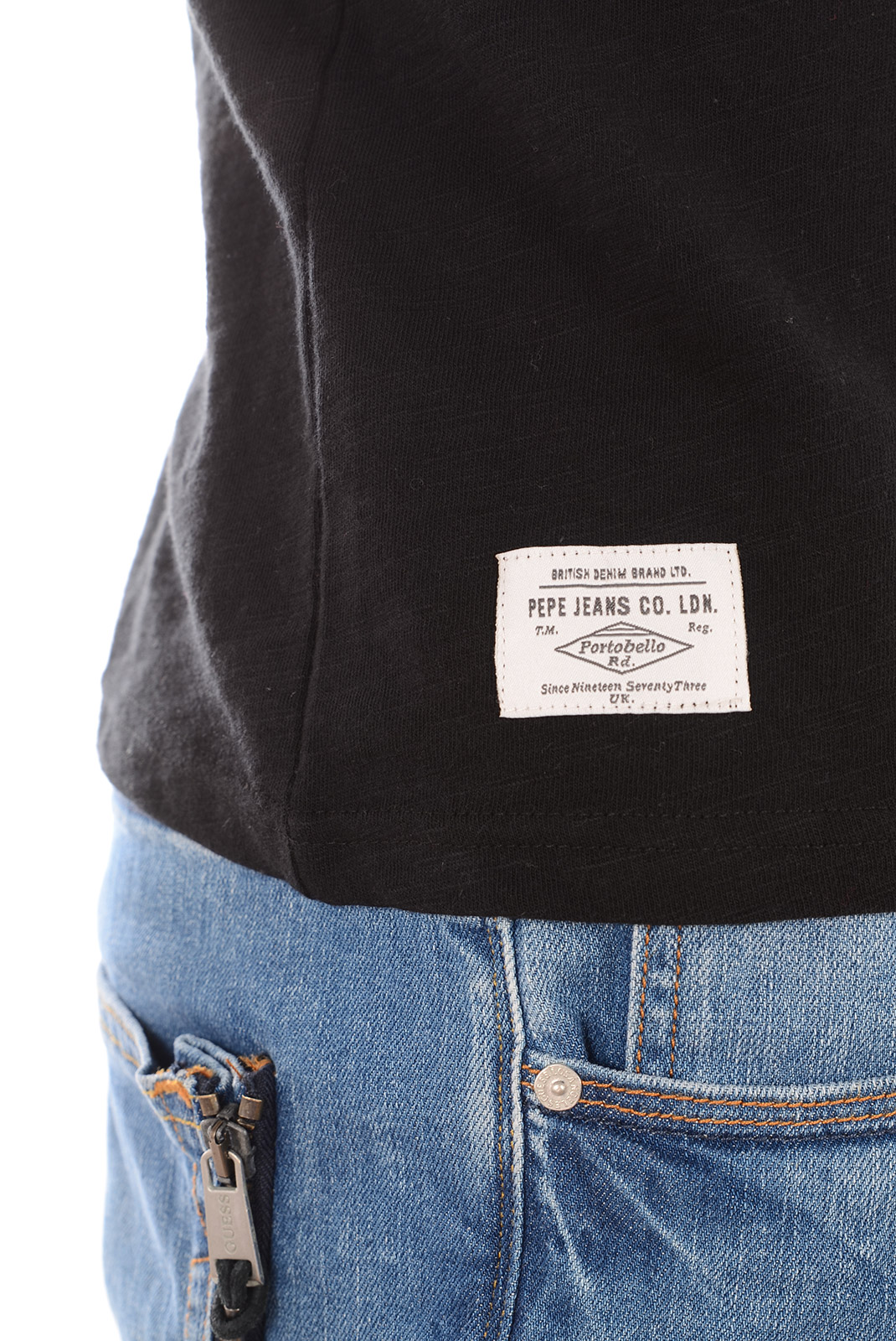 Tee-shirts  Pepe jeans PM502465 JOCK 999 BLACK