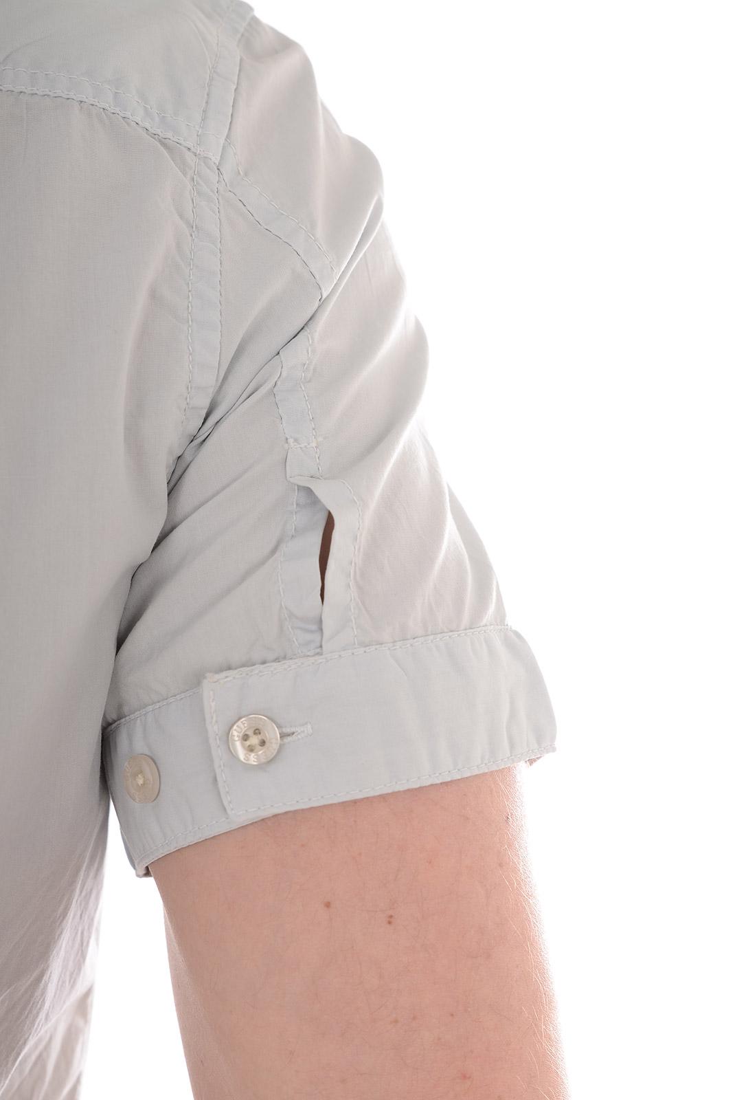 Chemises   Guess jeans M51H02 W51C0 B931 GRIS