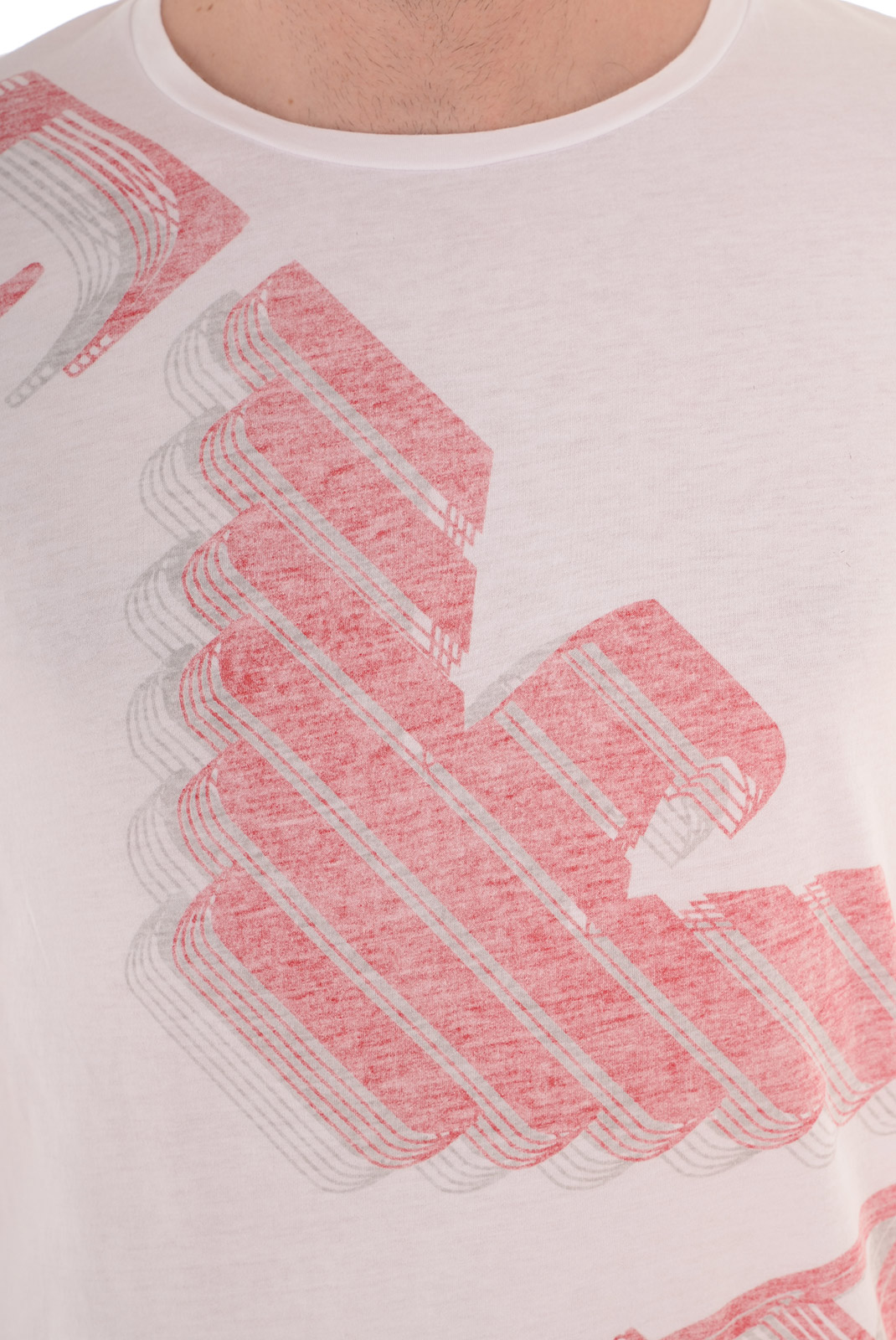 Tee-shirts  Emporio armani 211123 5P458 010 WHITE