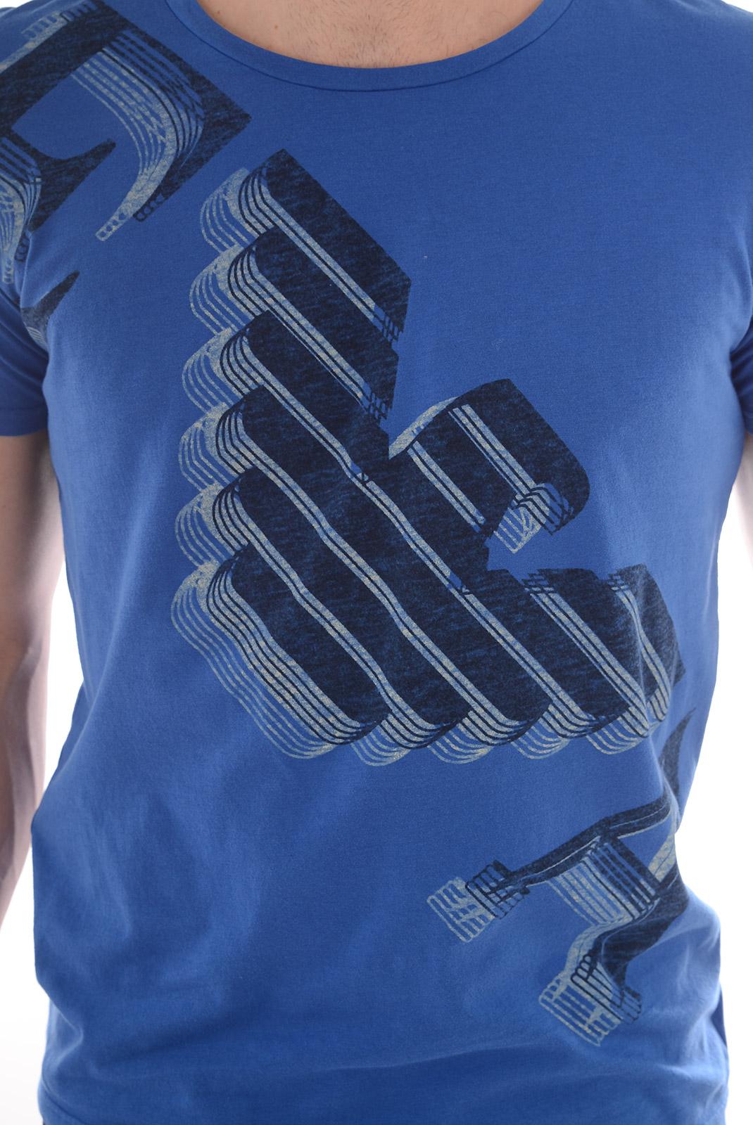 Tee-shirts  Emporio armani 211123 5P458 03833 GLACIER