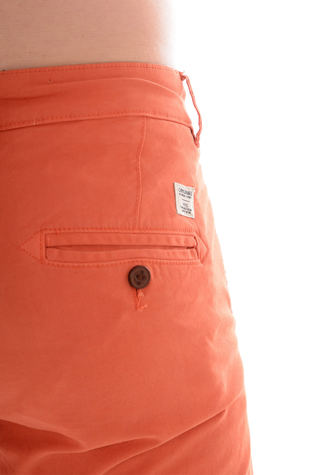 Pantalons  Jack & Jones BOLTON DEAN  AKM MECCA ORANGE