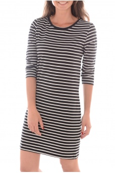 VERO MODA: SKY 3/4 STRIPED SHORT DRESS NOOS