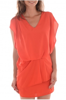FEMME VERO MODA: GRANT SL MINI DRESS