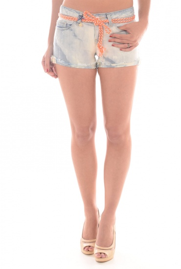 CARRIE LOW DNM SHORTS CRE - FEMME ONLY