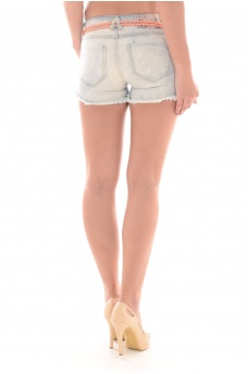 FEMME ONLY: CARRIE LOW DNM SHORTS CRE