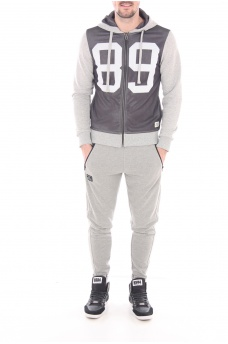 HOMME JACK AND JONES: MANHATTAN SWEAT ZIP HOOD