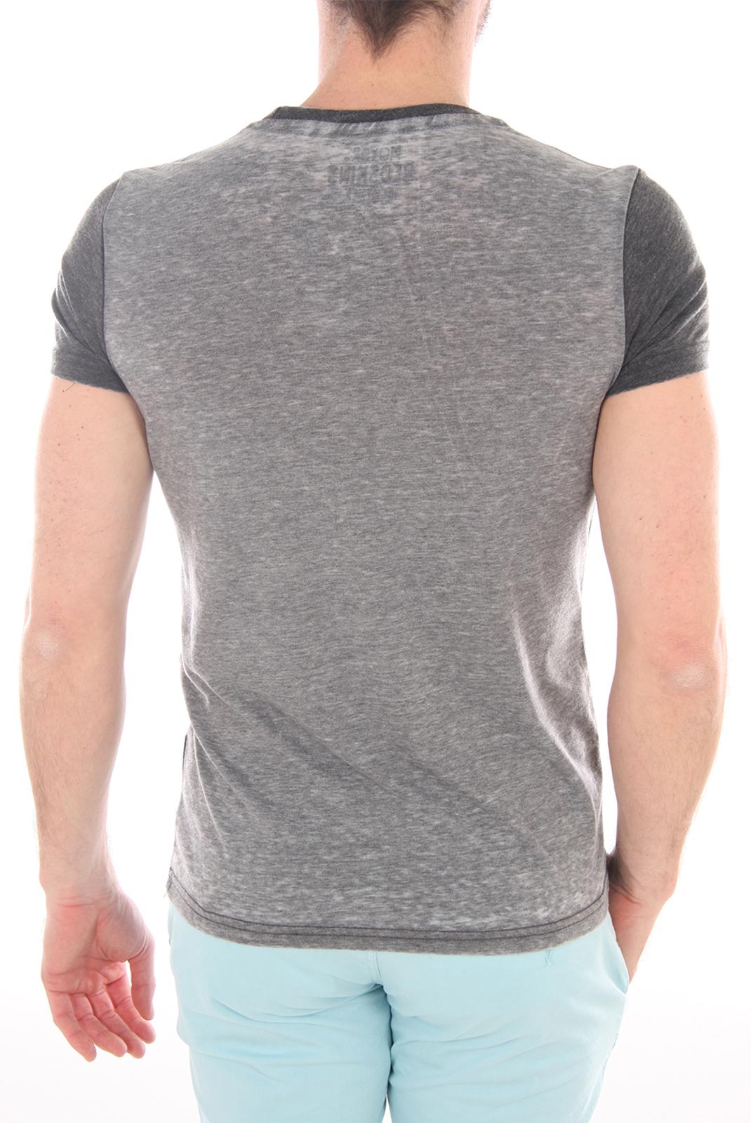 Tee-shirts manches courtes  Redskins VALDEZ GOLDCHESTER BLACK GREY