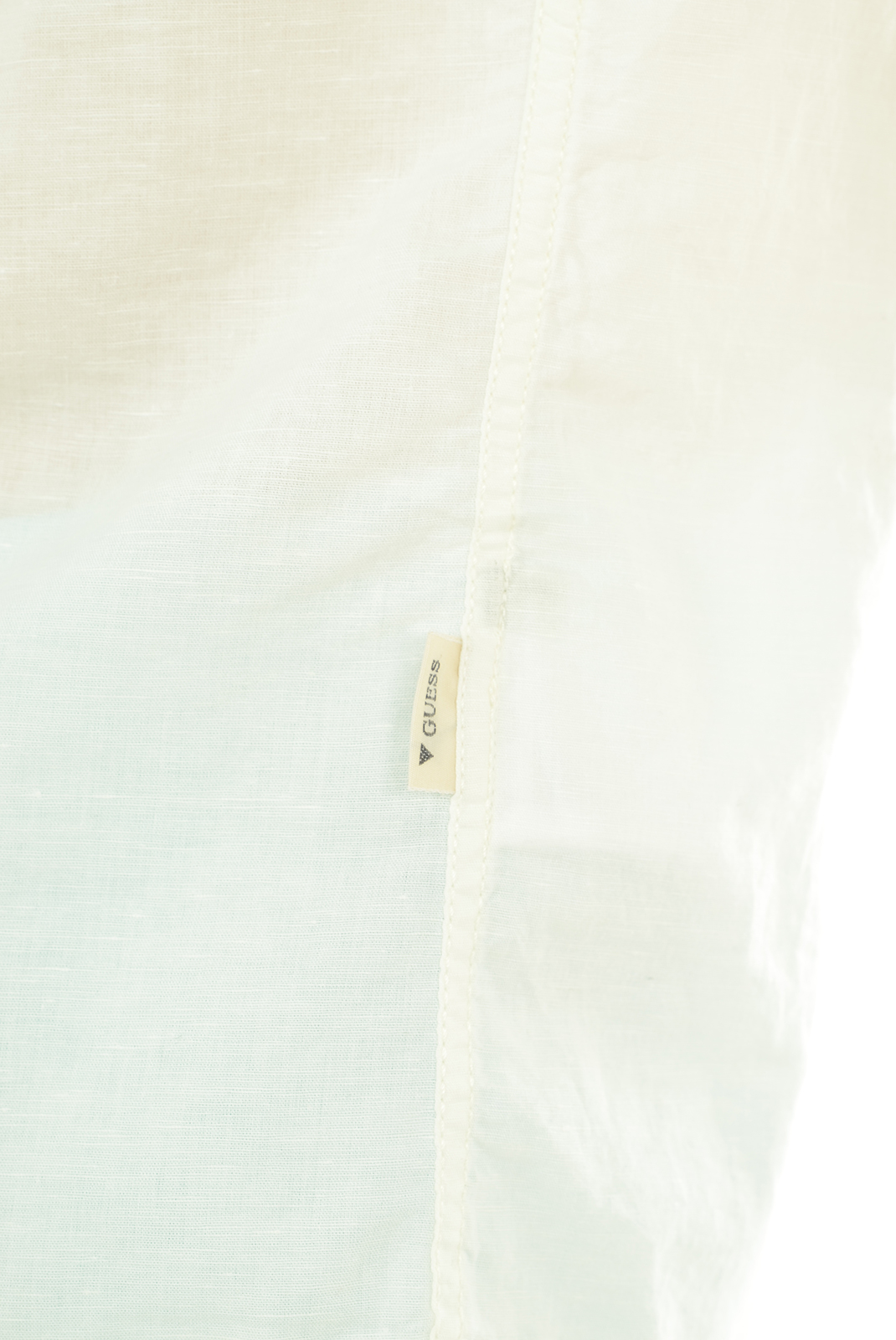 Chemises   Guess jeans M51H29W50O0 008 BLANC