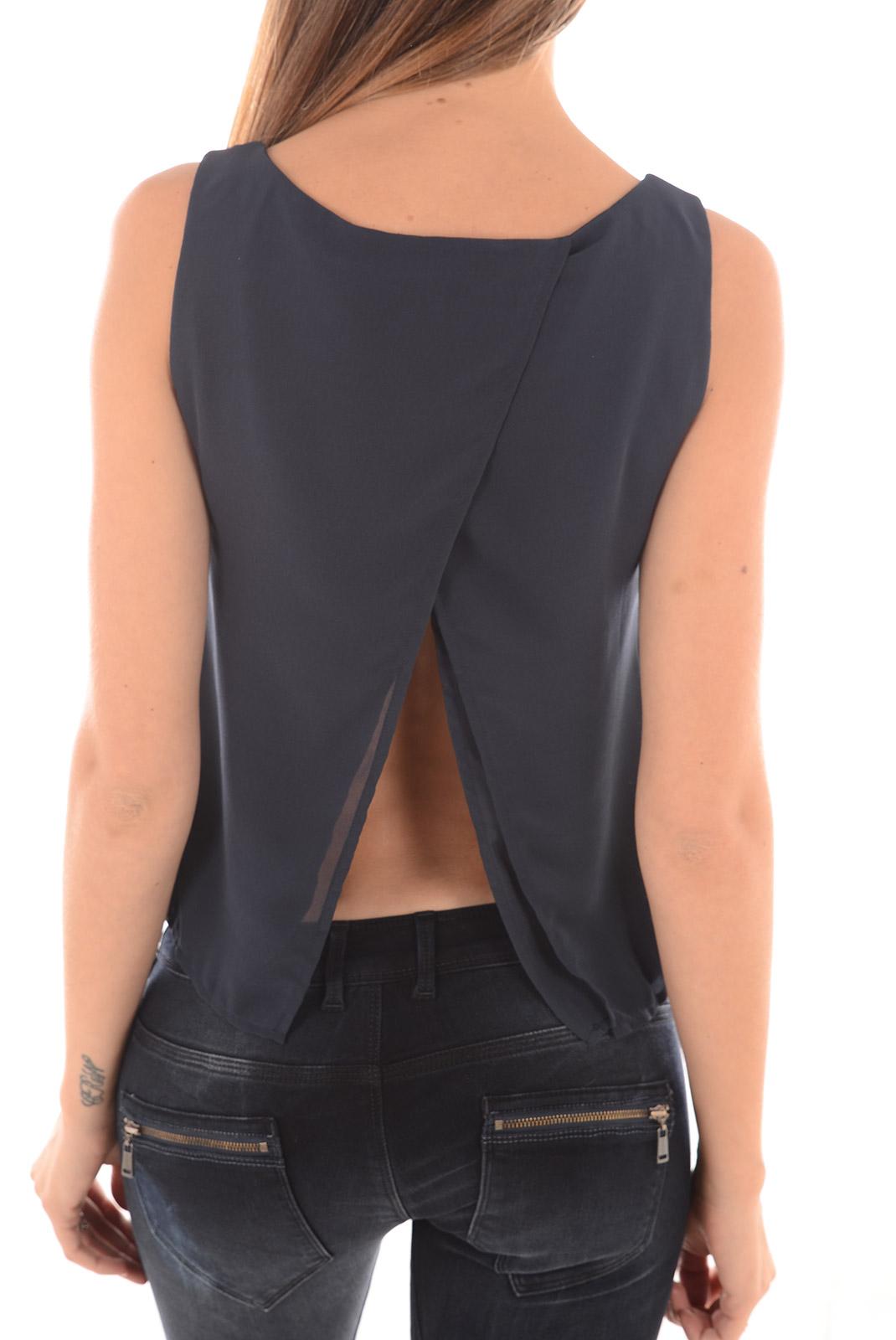 Tops & Tee shirts  Vero moda CLARA SL TOP WP15 TOTAL ECLIPSE