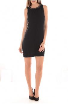 SPARK SL SHORT DRESS - FEMME VERO MODA