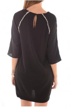 FEMME VERO MODA: France 3/4 SHORT DRESS