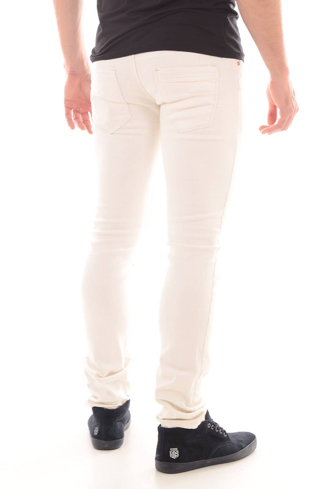 slim / skinny  Biaggio jeans DENTOR OFF WHITE