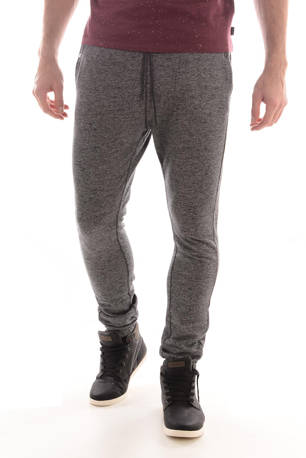 Pantalons  Selected STROKE SWEAT PANT BLACK