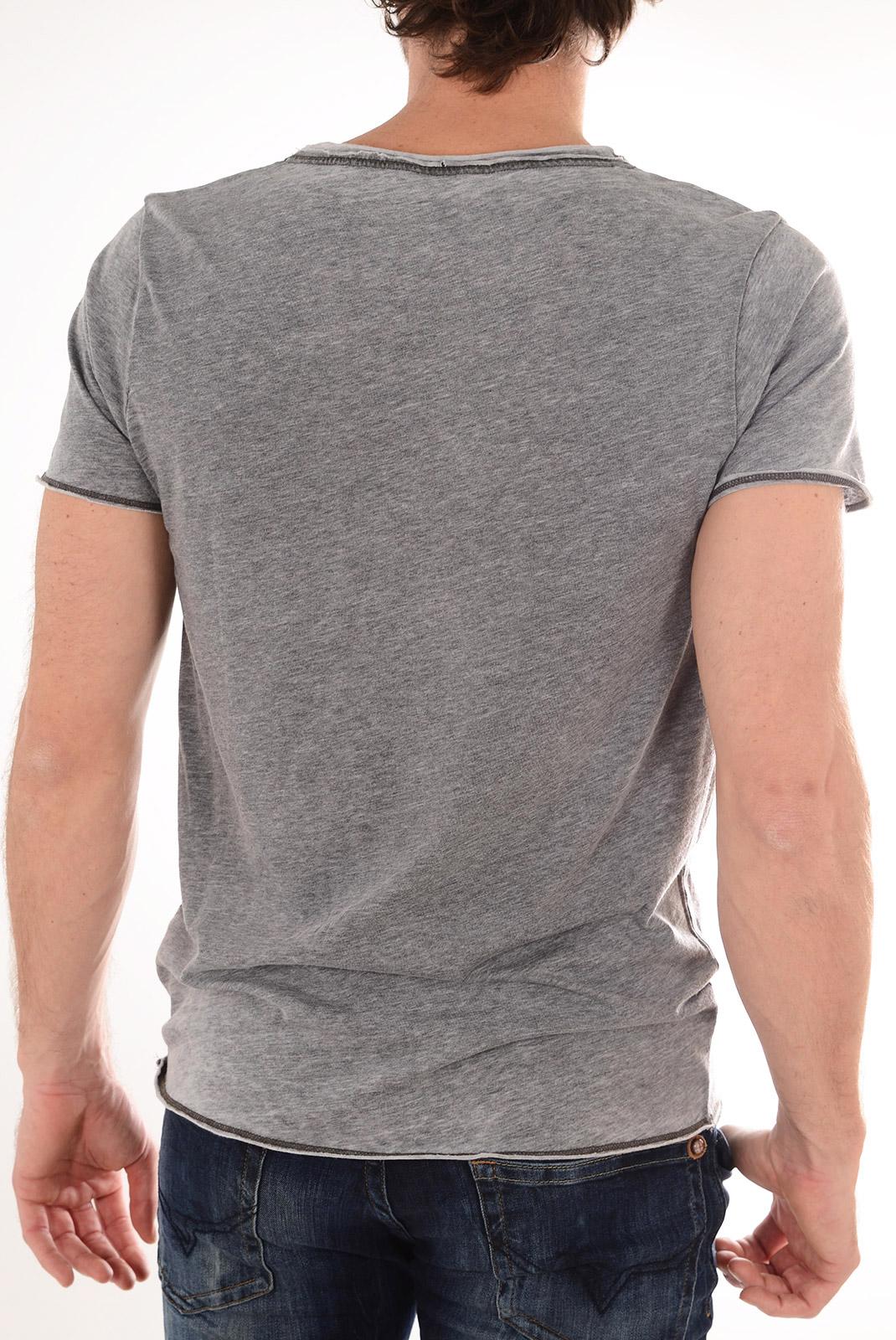 Tee-shirts  Selected SATURDAY SS O NECK PIRATE BLACK