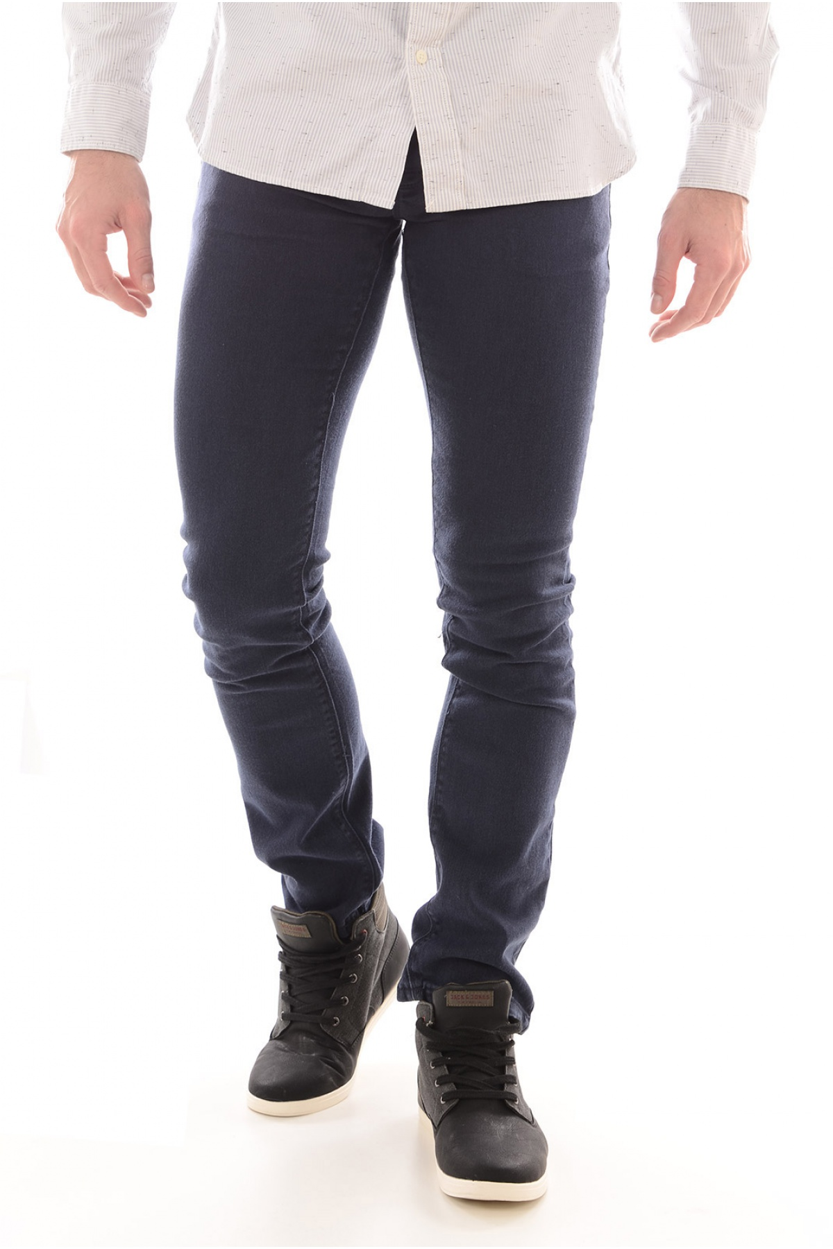 Jean Slim Stretch Couleur Dentor - Biaggio Jeans