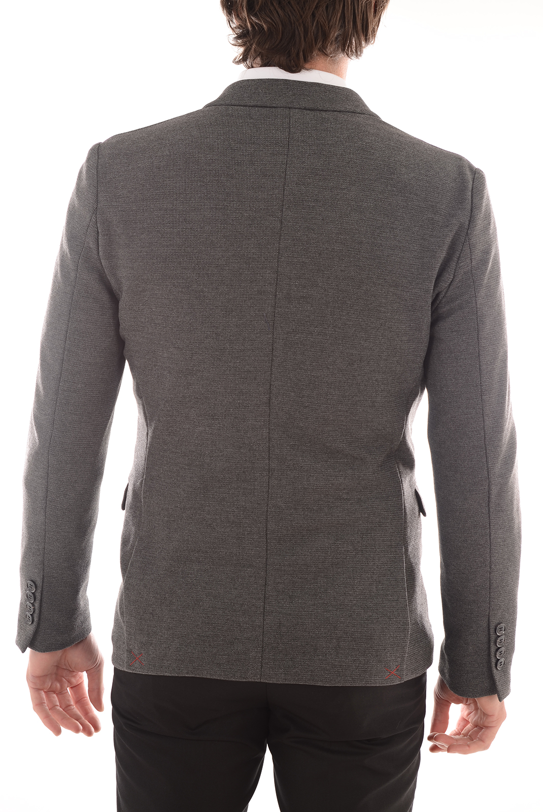 HOMME  Selected DONEORIGON BLAZER DARK GREY MELANGE