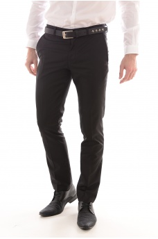 ONE MYLO SHLOGAN TUX TROUSER - HOMME SELECTED