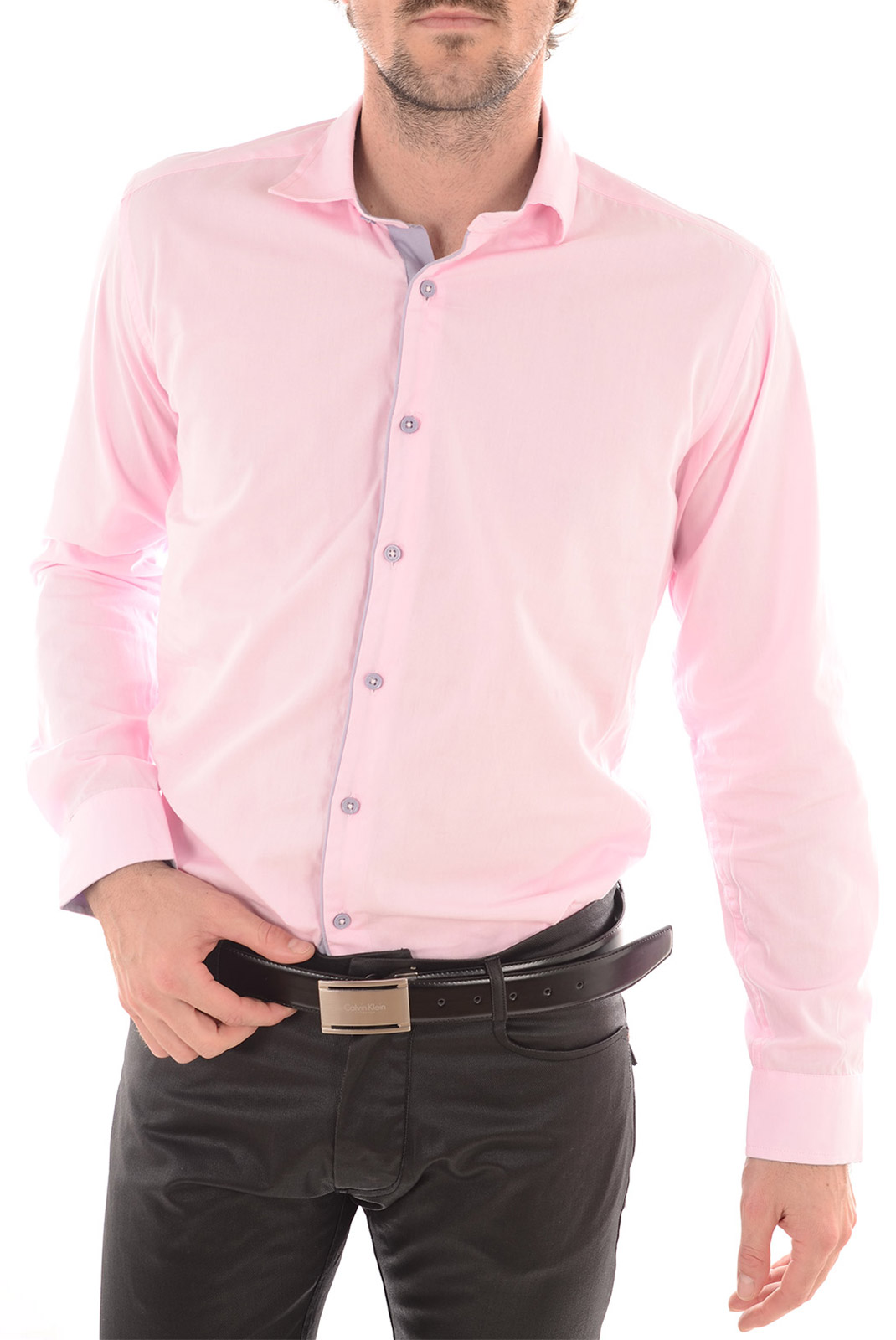 Chemises manches longues  Torrente Couture STARK ROSE