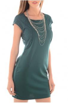 JULIA SL SHORT DRESS GA IT - FEMME VERO MODA