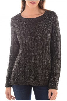 ANA LS PULLOVER KNT - FEMME ONLY