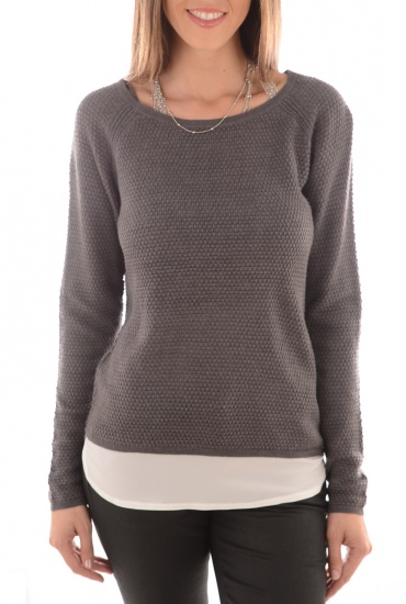 VIOLALOU L/S PULLOVER KNT - FEMME ONLY