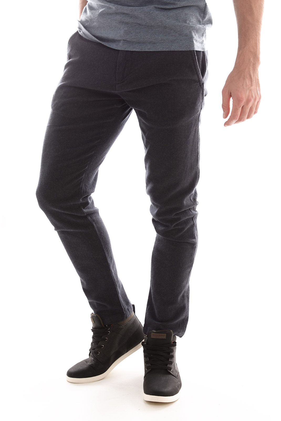 HOMME  Selected BECK ANTI PANT H DARK NAVY