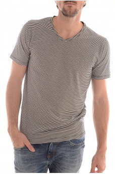 MARQUES SELECTED: PIMA HAY SS V NECK