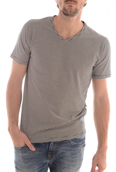 PIMA HAY SS V NECK - MARQUES SELECTED