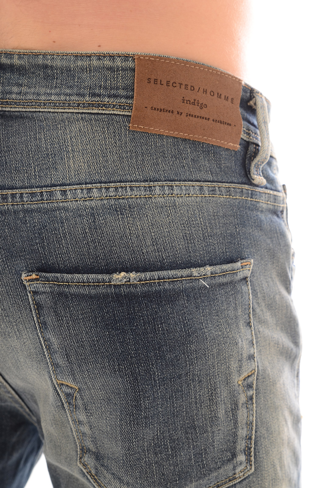 Jeans  Selected ONE FABIOS 1380 MIDL BLUE