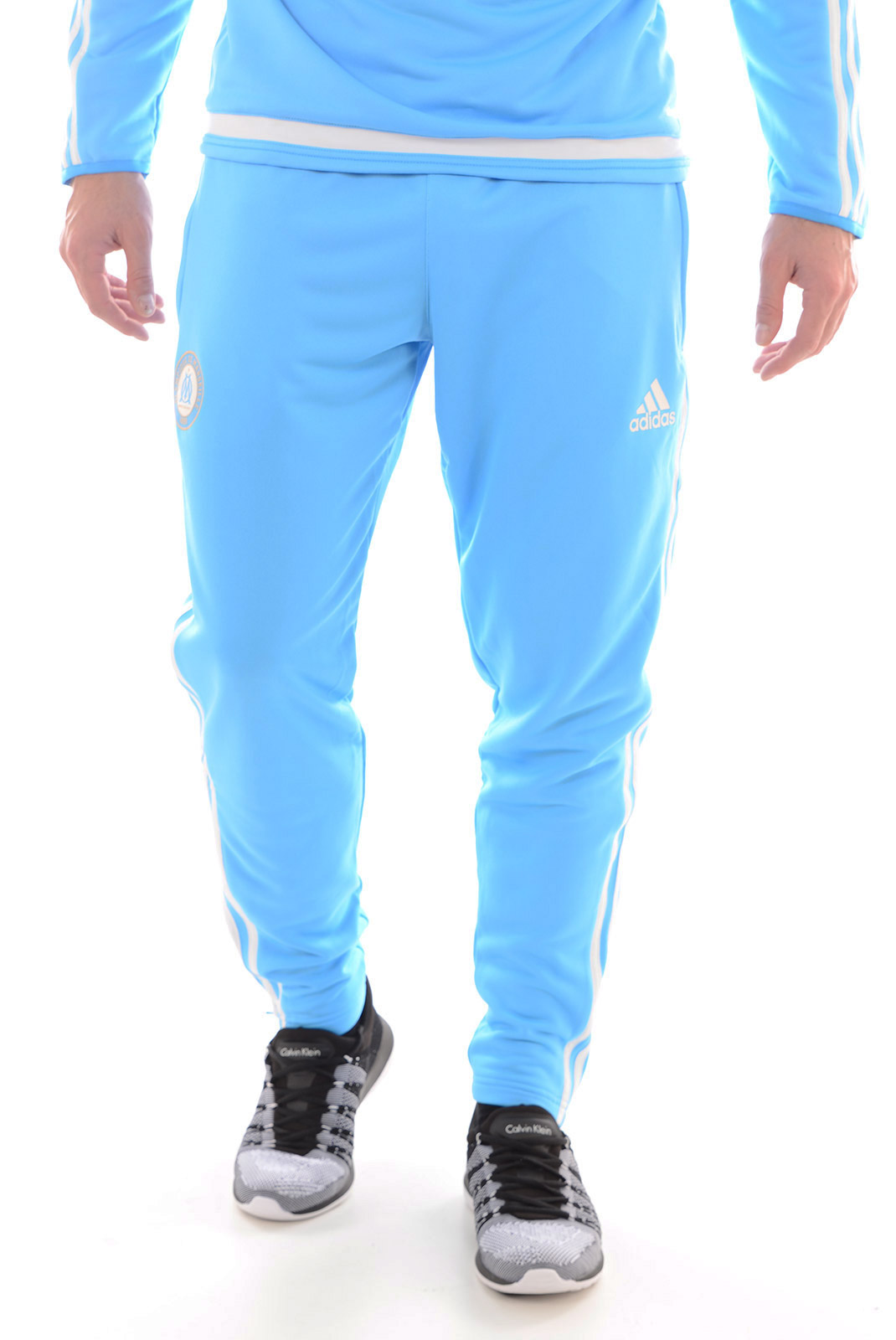 Pantalons sport/streetwear  Adidas S88929 OM BLEU