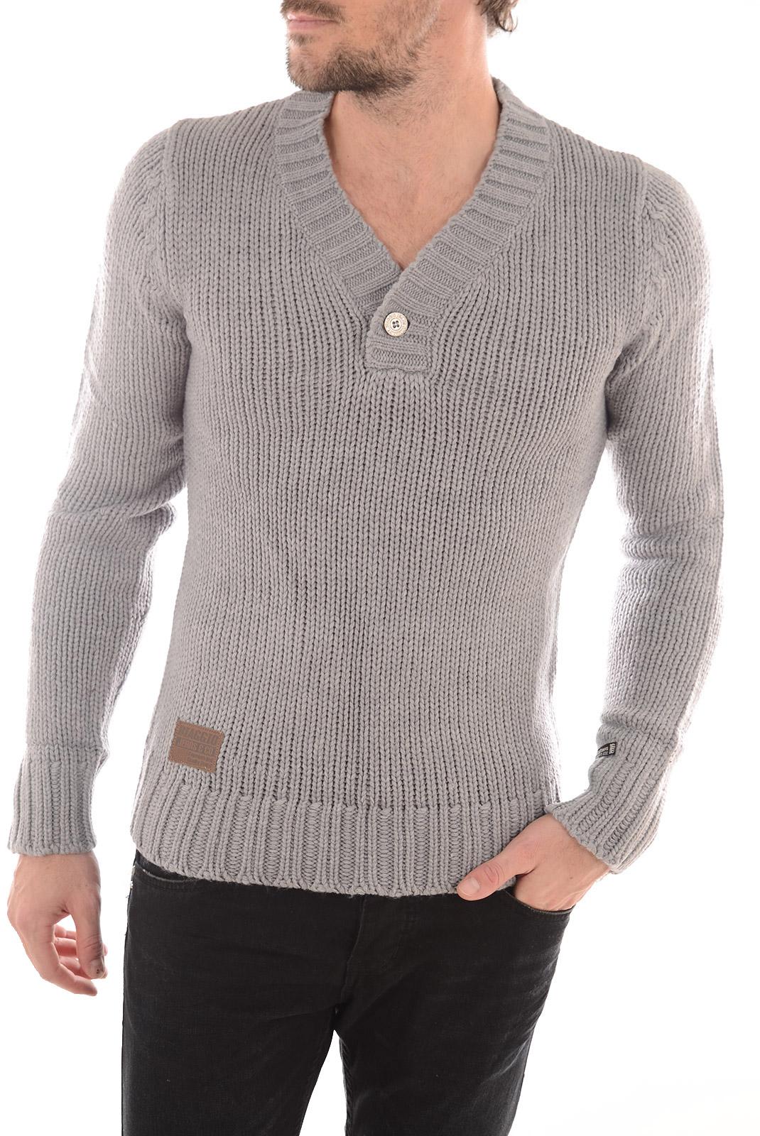 Pulls  Biaggio jeans PUVROK LT GREY MEL