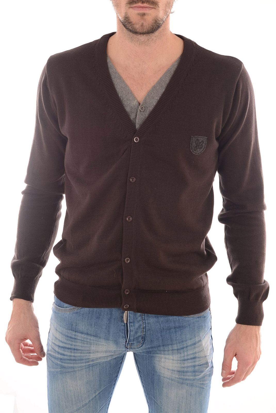 Pulls & Gilets  Biaggio jeans PARCAL CARBONE