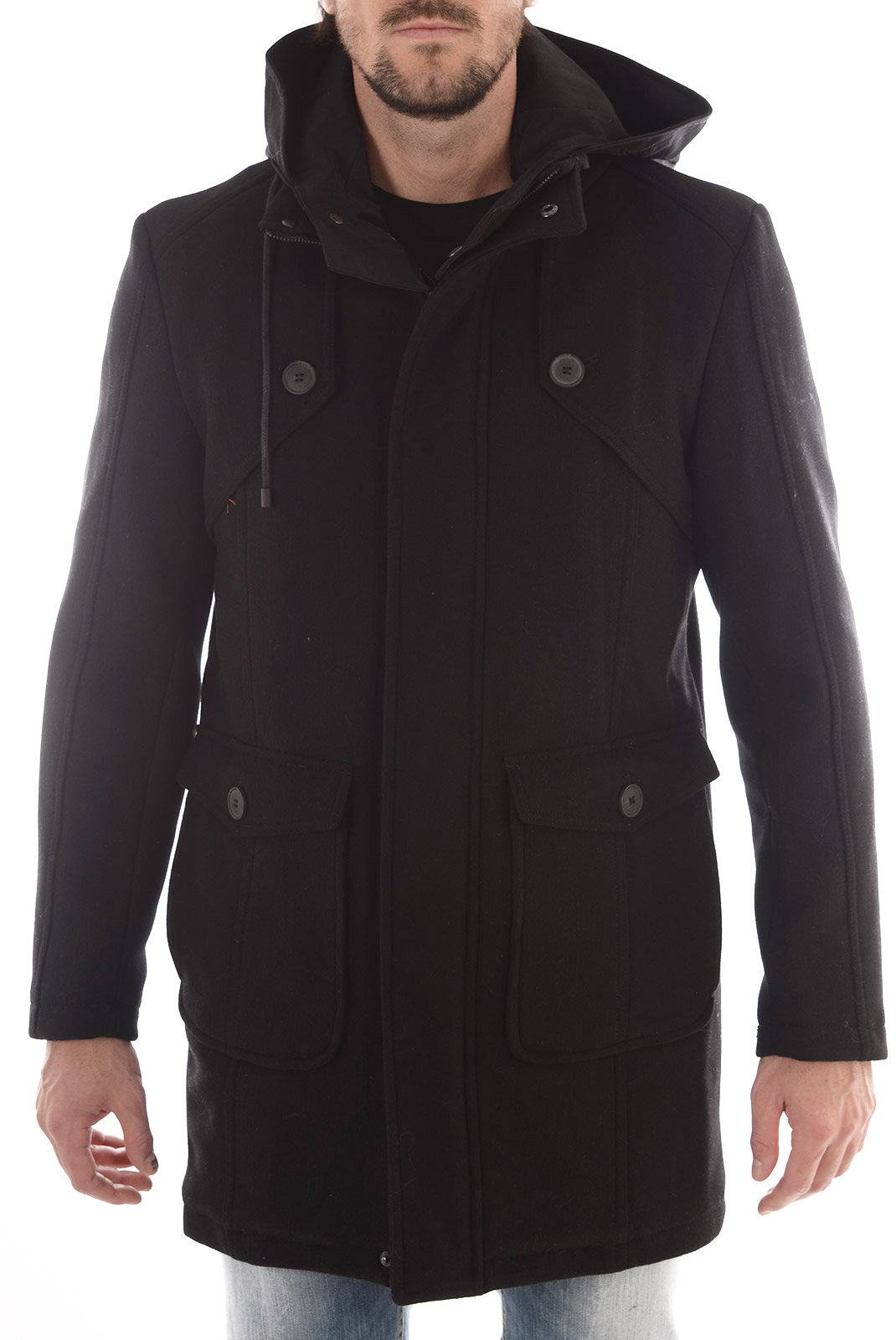 HOMME  Selected NORFOLK JACKET BLACK