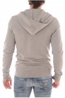 CHIL SWEAT ZIP HOOD - HOMME JACK AND JONES
