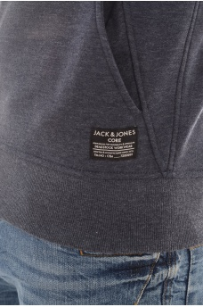 JACK AND JONES: CHIL SWEAT ZIP HOOD