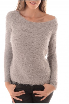 PERFECT L/S PULLOVER KNT NOOS - FEMME ONLY