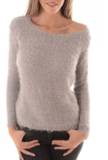 FEMME ONLY: PERFECT L/S PULLOVER KNT NOOS
