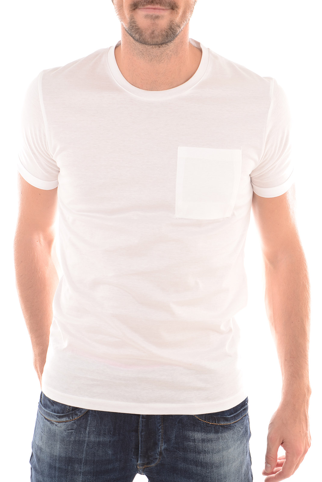 Tee-shirts  Selected DIEGO SS O-NECK BRIGHT WHITE